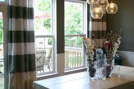 Dining Room Curtains Modern Curtain Ideas Monfaso
