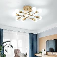großhandel neue moderne minimalistische schwarz goldene kronleuchter decke wohnzimmer leuchten esszimmer decoratio hängelen schlafzimmer licht