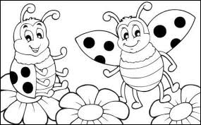 100 Ideas Lady Bug Coloring Pages On Gerardduchemann