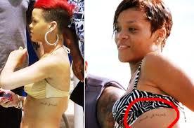 Rihannas 24 Tattoos Their Meanings Body Art Guru