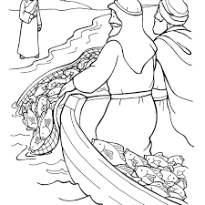 Fishers Of Men Coloring Pages Fishing