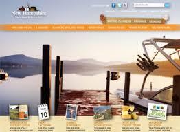 New Hampshire View Visitnhgov More Travel Web Design Examples