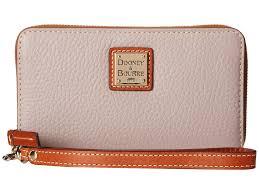 dooney u0026 bourke pebble leather new slgs zip around credit card