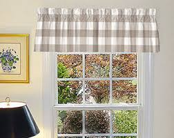 Checkered Flag Window Curtains by Country Curtains Etsy