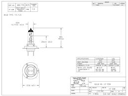 halogen bulb px26d h7 12 volt 55 watt 1350 lumens