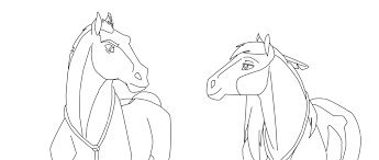 To Print Spirit Stallion Of The Cimarron Coloring Pages 30 In With