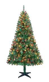 6ft Fiber Optic Christmas Tree Walmart by Christmas Tree Wal Mart Christmas Lights Decoration