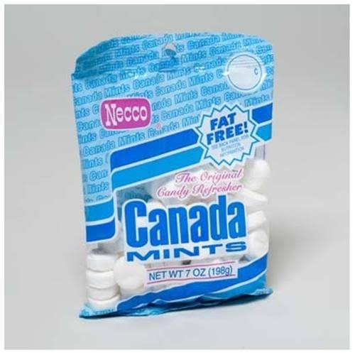 Necco Canada Mints - Peppermint, 7oz