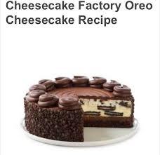 Cheesecake Factory Oreo Cheesecake Recipe