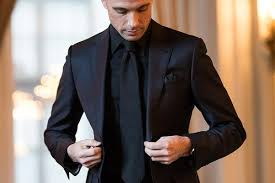 Yes According To The Latest Fashion Trends For Men All Black Monochromatic Outfits Are Very Much In 2018