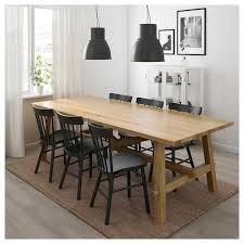 möckelby norraryd tisch und 6 stühle eiche schwarz