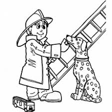 Fire Fighter Coloring Pages 13 Firefighter