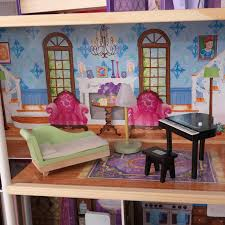 Barbie Living Room Set by Kidkraft My Dreamy Dollhouse With 14 Accessories Included