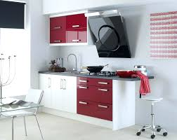 Full Size Of Quirky Kitchen Wall Color Schemes Idea Using Red And White Cabinet On Paint
