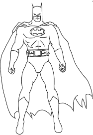 Printable Awesome Design Ideas Batman Cartoon Coloring Pages 82 About Remodel Free