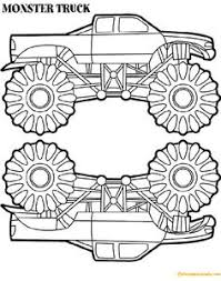 Macaroni And Cheese Truck Coloring Page Hot Wheels Monster Truck Coloring Page For Kids Transpor on