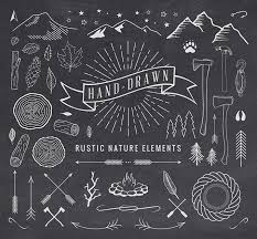 Hand Drawn Rustic Elements DOWNLOAD