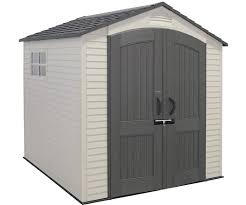 Rubbermaid Outdoor Storage Shed 7x7 by Lifetime Sheds Plastic Storage Shed Kits