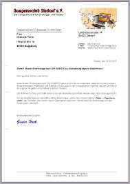 Erstellung Einer BriefvorlageBrief DIN 5008 Teil 1