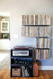 Collection Display Shelves Records Storage Organization Rock Shelf