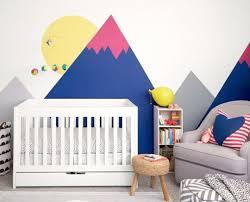 pochoir chambre bébé formidable pochoir chambre bebe 5 d233co montagne dans la chambre