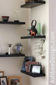 Lovely Ideas Corner Shelf For Living Room Winsome Inspiration Shelves