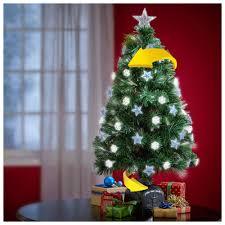 Fiber Optic Rotating Tabletop Christmas Tree by 36