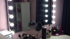 vanity makeup mirror with light bulbs review doherty house wall
