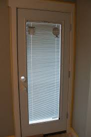Sliding Door With Blinds In The Glass by Door With Built In Blinds
