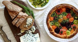 provencal cuisine savory provençal cheese and vegetables tart free restaurant recipes