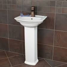 Home Depot Pedestal Sink Cabinet by Best 25 Corner Pedestal Sink Ideas On Pinterest Pedestal Sink