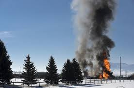 100 Propane Truck Explosion Man Burned In Helena Valley Propane Explosion Flown To