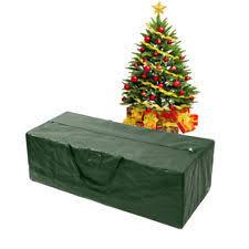 Artificial Xmas Christmas Tree Storage Bag Box Bin Bags For Trees 4 9 Foot Green