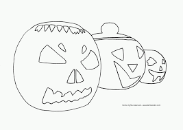Scary Halloween Pumpkin Coloring Pages by Halloween Coloring Pages September 2010