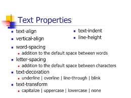 text decoration underline more space cascading style sheets eugenia fernandez iupui css purpose css