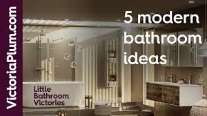 5 modern bathroom ideas from victoriaplum part 2