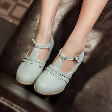 Image Is Loading Korean Womens Cute Vintage Ankle Strap Summer Sandals