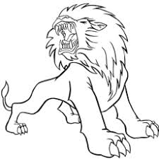 The Barbary Lion Coloring Pages