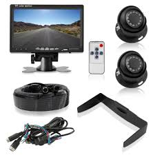 Pyle Rear View Backup Camera & Monitor System Kit, 7