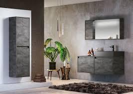 badmöbel set unterschrank spiegelschrank 120cm waschbecken in antrazit