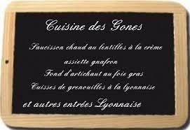 recette cuisine lyonnaise entrée cuisine des gones cuisine lyonnaise