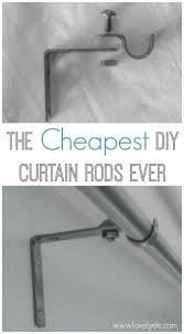 Allen And Roth Curtain Rod Instructions by Best 25 Diy Curtain Rods Ideas On Pinterest Curtain Rods