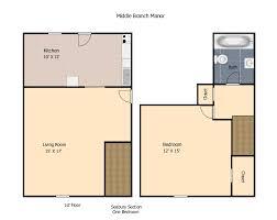 1 Bedroom Townhouse