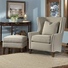 cheap tufted chair leather strandmon wing embly gray accent chairs