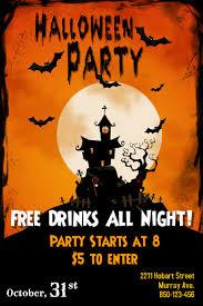 Free Halloween Flyer Templates by Halloween Flyer Templates Mobawallpaper