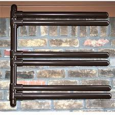Hanging 6 Float Storage Rack with Burnished Iron Material and