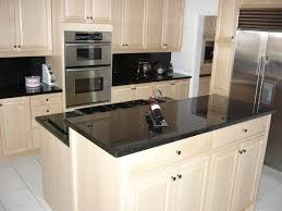 White Or Cream Cabinets Black Countertops
