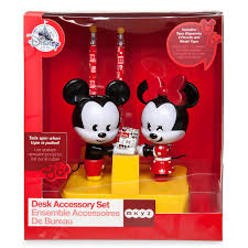 Mickey And Minnie Mouse Bath Decor by Mickey And Minnie Mouse Mxyz Desk Accessory Set Shopdisney