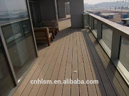 Durable High Performance Material Wood Plastic Composite Waterproof Balcony Flooring