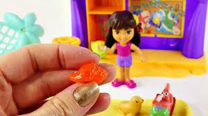 Dora The Explorer Kitchen Playset by Dora The Explorer Playa Verde Cabana Play Doh Pop Up Sandcastle